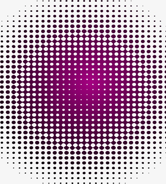 白色波点矢量图