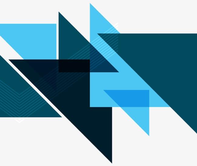 时尚三角形背景矢量素材