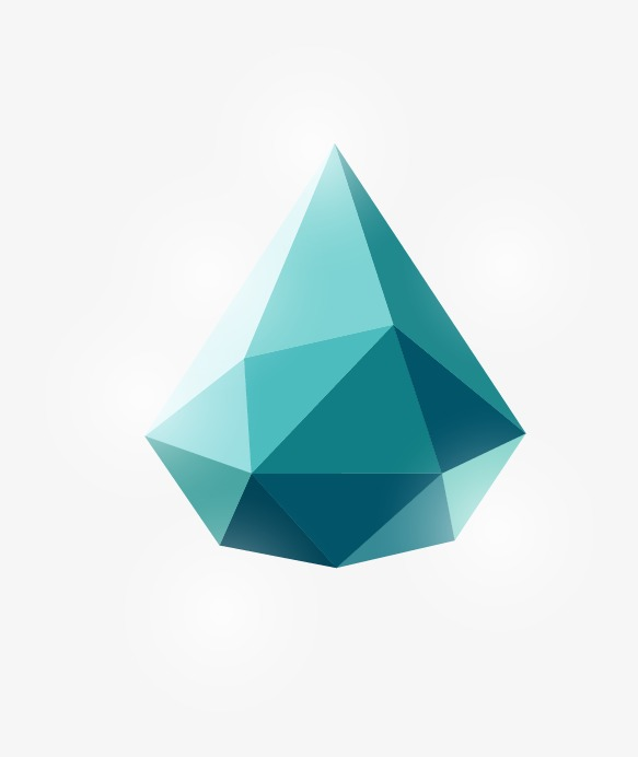 抽象几何立体形状