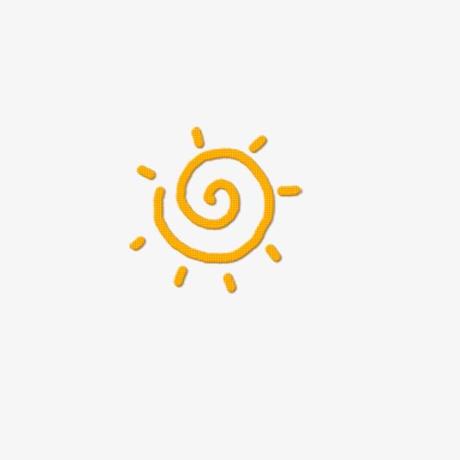 手绘小太阳