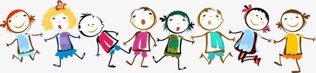彩绘 背景 孩子 儿童 插画 儿童节小朋友             此素材是90