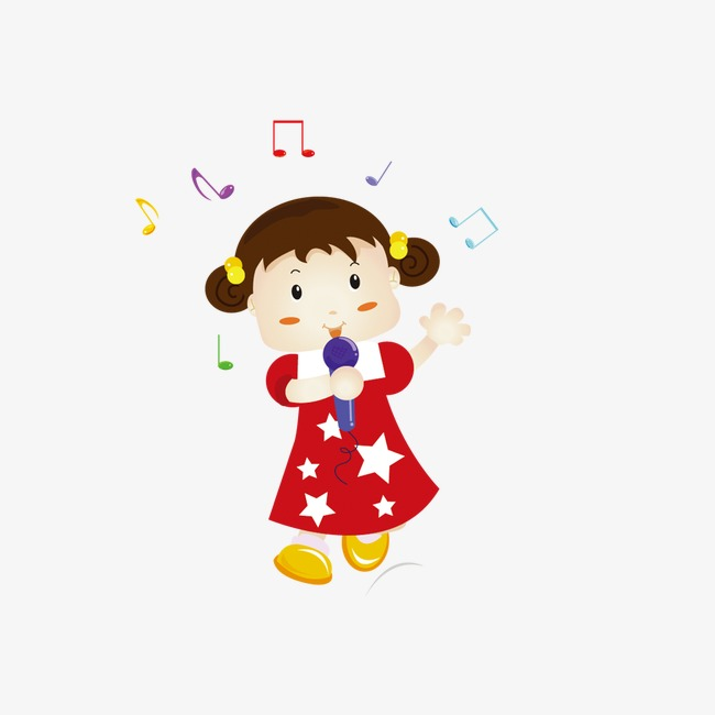 唱歌的小女孩