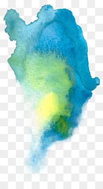 水彩元素手绘