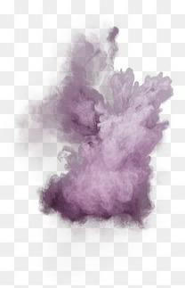 紫色粉末爆炸素材