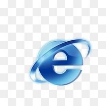 E 互连网 蓝色 E网