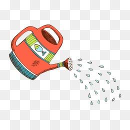 小喷壶简笔画_【喷壶水素材】_喷壶水图片大全_喷壶水素材免费下载_千库网png