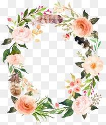 精美花卉花环