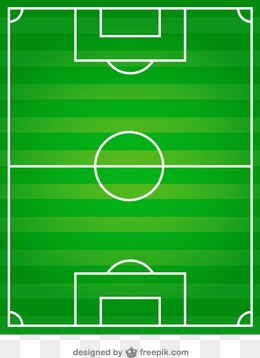 足球场俯视图矢量素材下载