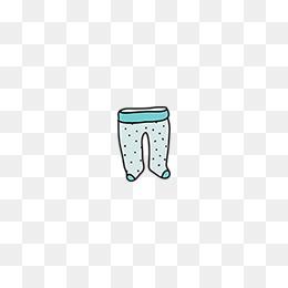 免费下载 裤子手绘图片大全 千库网png
