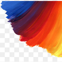 彩色油漆笔刷