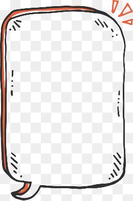 手绘简易文本框素材图片免费下载_高清装饰图案psd_千库网(图片编号31