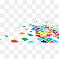 炫彩正方形