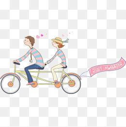 免费下载 骑自行车卡通图片大全 千库网png图片