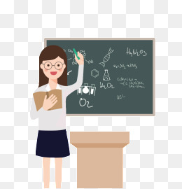 女教师上课