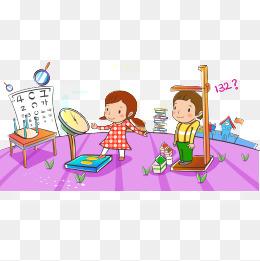 免费下载 卡通儿童体检图片大全 千库网png
