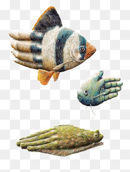 素描鱼图片大全 素描鱼素材免费下载 千库网png图片