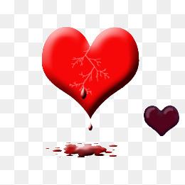 心形心碎图片大全_【滴血心素材】_滴血心图片大全_滴血心素材免费下载_千库网png