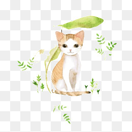 免费下载 手绘小猫图片大全 千库网png
