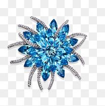 施华洛世奇元素水晶胸针