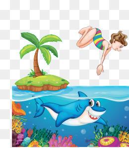 免费下载 海水卡通图片大全 千库网png 第2页