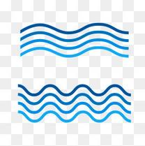 蓝色水波纹