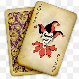 免费下载 扑克小丑图片大全 千库网png图片