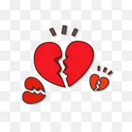 心形心碎图片大全_【心心碎素材】_心心碎图片大全_心心碎素材免费下载_千库网png