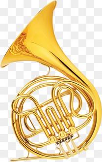 金色大喇叭乐器用品