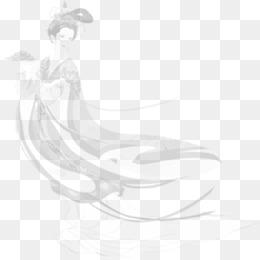 中国风水墨莲花素材图片免费下载 高清装饰图案png 千库网 图片编号