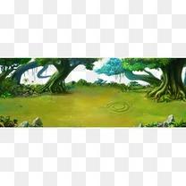 横版游戏场景地图