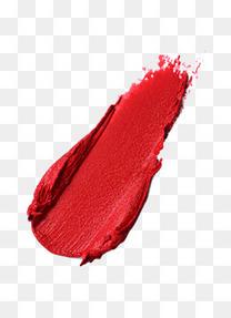 美妆口红痕迹