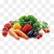 有机蔬菜水果集锦