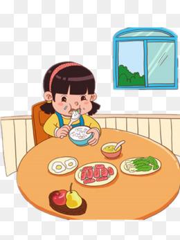 免费下载 小孩吃饭卡通图片大全 千库网png