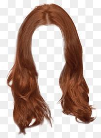 美女黄色大卷造型长发
