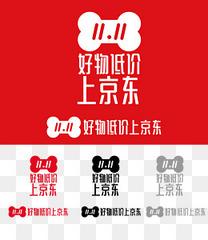 京东官方促销logo