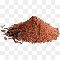巧克力粉堆