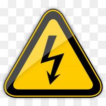 高压有电警示标志