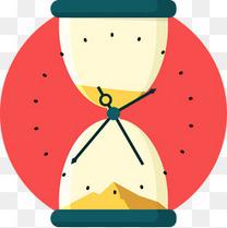 矢量时间点插图