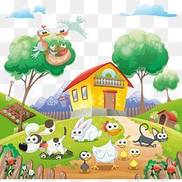 免费下载 卡通家园图片大全 千库网png图片