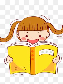 小孩阅读_设计元素_小孩阅读图片背景素材大全_千库网