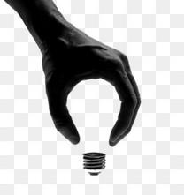 黑白手势耶素材图片免费下载 高清卡通手绘psd 千库网 图片编号5154018