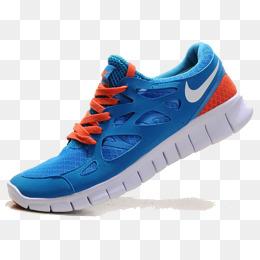 安踏透气鞋_【运动鞋蓝色素材】免费下载_运动鞋蓝色图片大全_千库网png