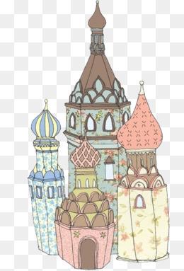 建筑尺度小人素材手绘