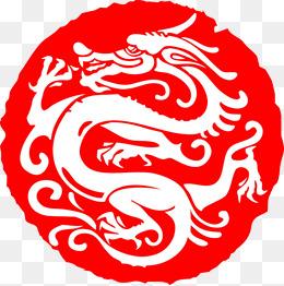 中国龙的图案简笔画-霸气龙图片大全 霸气龙素材免费下载 千库网png