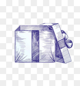 免费下载 礼物盒简笔画图片大全 千库网png