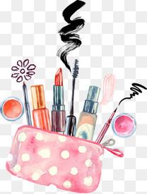 手绘化妆包