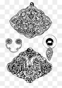 藏族花纹图案矢量素材图片免费下载 高清装饰图案psd 千库网 图片编