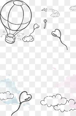 免费下载 爱心热气球图片大全 千库网png