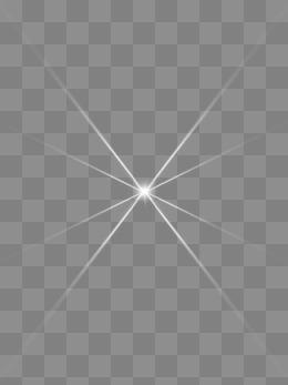 光晕透明png素材