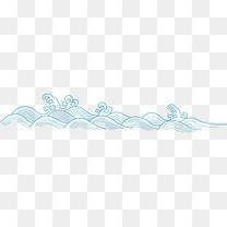 矢量古典水纹